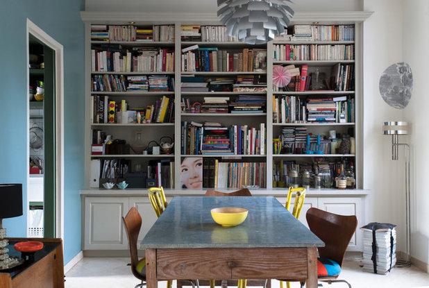 Eclettico Sala da Pranzo by Carole Dugelay, Architecture Intérieure-Décoration