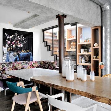 Marais penthouse Paris