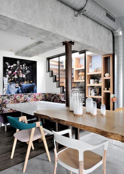 Éclectique Salle à Manger by Olivier Gay Architecture & Design