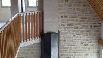 Mur intérieur en Décopierre