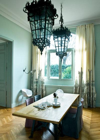Le case di houzz l 39 eredit haussmaniana parigina in for Sala pranzo vecchia