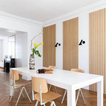 Parquet Point de Hongrie Haussmann - Appartement Paris