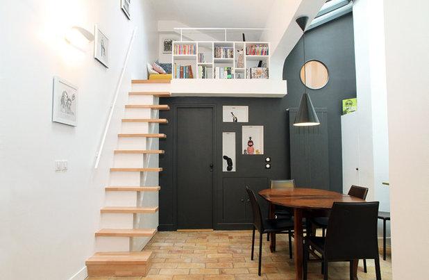 Contemporary Dining Room by MSD Interior Designer