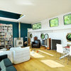 Houzz Tour: A Beautifully Renovated Houseboat on the River Seine