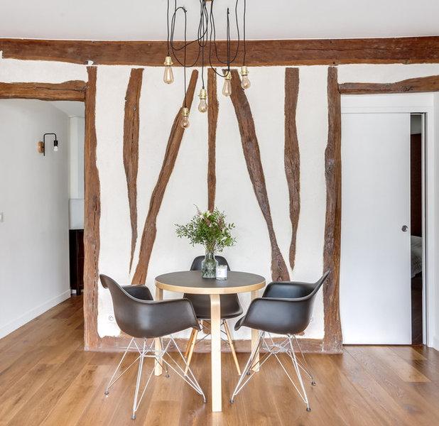 Contemporary Dining Room by Eline Sango Architecte d'intérieur