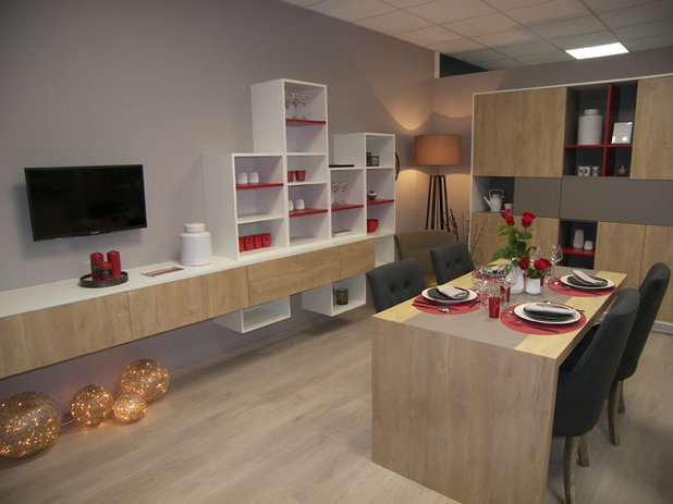 Contemporary Dining Room by AGEM - Les Herbiers
