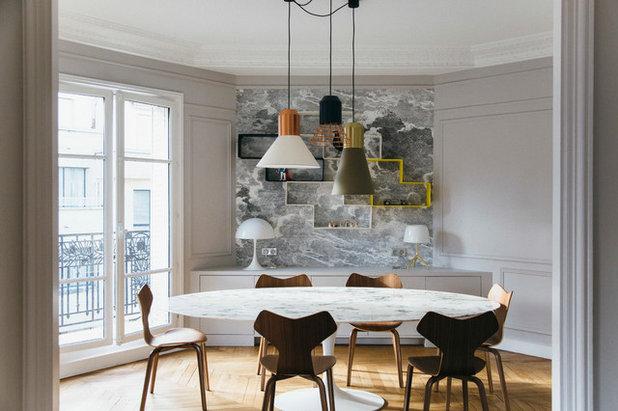 visite priv e des lignes douces pour un appartement familial. Black Bedroom Furniture Sets. Home Design Ideas