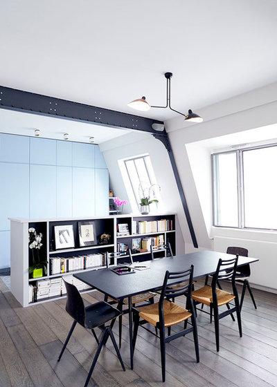 Contemporain Salle à Manger by LORRAINE COLSON | Architecte d'Intérieur