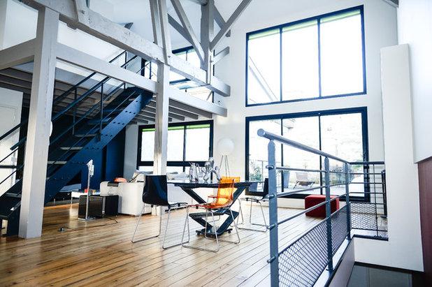 12 astuces pour s curiser un escalier int rieur for Salon loft metz