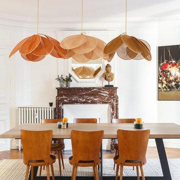 Rénovation appartement Haussmannien rue du Rocher à Paris