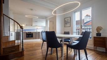 Rénovation complète d'un appartement Paris 20ème