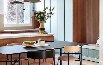 Visite Privée : Élégante rénovation d'un appartement 70s