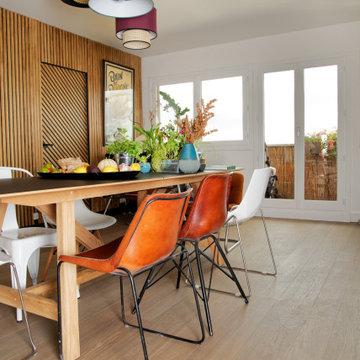 Rénovation d'un appartement familial dans le 18e arrondissement de Paris