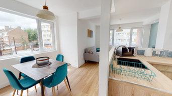 Rénovation d'un appartement sur Lomme