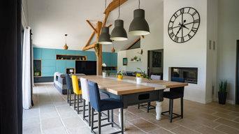 Rénovation d'une grange en Vendée à Sallertaine