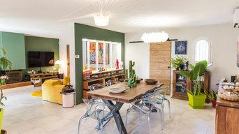 Rénovation d'une maison de plain pieds