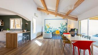 Rénovation et aménagement d'une villa vue mer
