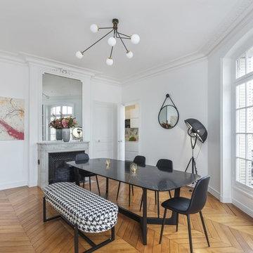 Rénovation et décoration d'un appartement, Ternes