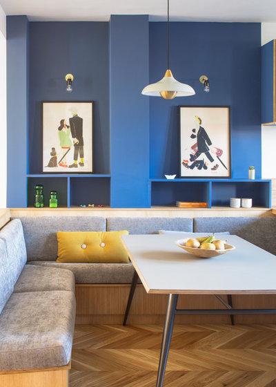 Contemporary Dining Room by Atelier Sagitta