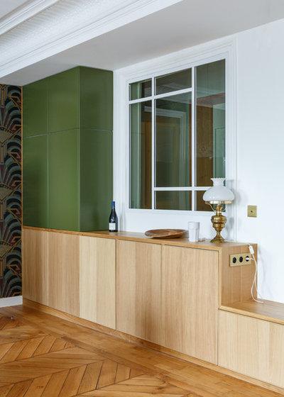 Модернизм Столовая by Mon Concept Habitation | Paris, Lille, London