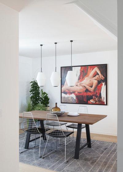 Contemporaneo Sala da Pranzo by atelier daaa