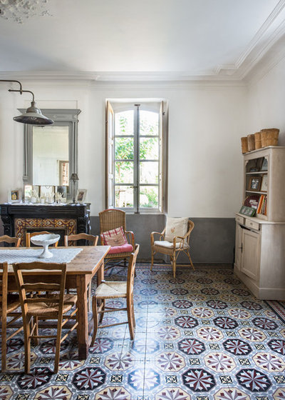 Country Sala da Pranzo by Jours & Nuits