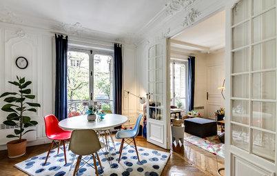 Houzz Франция: Квартира Инес и Маттео, полная сокровищ