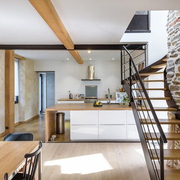 TANGUY Mickaël architecte, réhabilitation maison individuelle, Rennes, 35