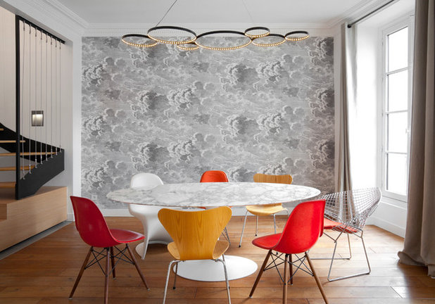 Contemporary Dining Room by ATELIER FB