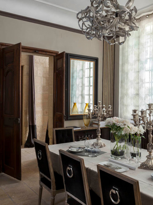 deco salon campagne chic amenagement des combles idees u. idee ... - Decoration Salle A Manger Et Salon