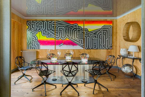 Eclettico Sala da Pranzo by Fabrice Ausset - Architecte DPLG