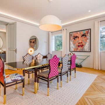 Villa de 650 m2 à Saint-Germain-en-Laye - La salle à manger