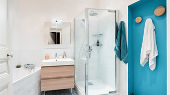 2 salles de bains fraîches et lumineuses !
