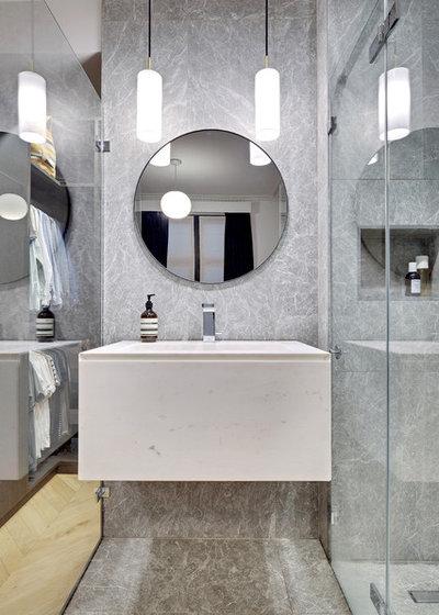 Contemporary Bathroom by Decor Interieur