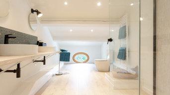 Aménagement des combles d'une magnifique maison provençale