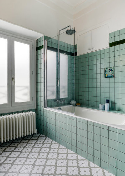 Contemporain Salle de Bain by Charlotte Fequet