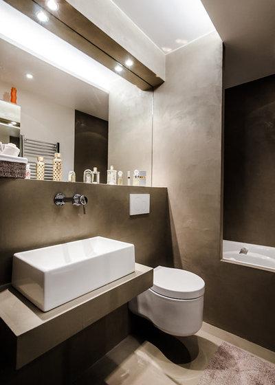 Microcemento en el ba o todo lo que tienes que saber for Revestimiento de paredes para duchas