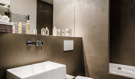 Microcemento en el baño: Todo lo que tienes que saber
