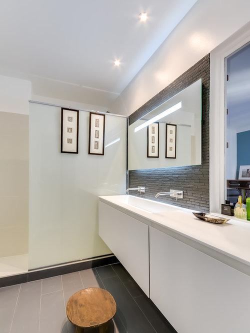 faux plafond de salle de bain : photos et idées déco - Faux Plafond Salle De Bains