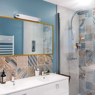 modele de salle bain moderne avec baignoire douche pour. bon modele ...