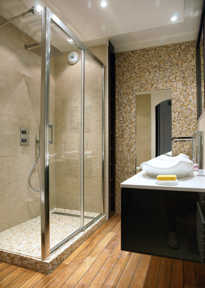 Contemporain Salle de Bain by Martine Codaccioni