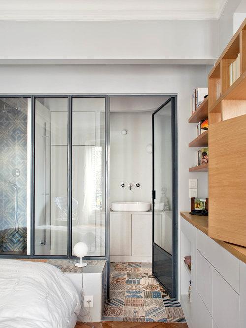 Salle de bain avec carreau de ciment : Photos et idées déco