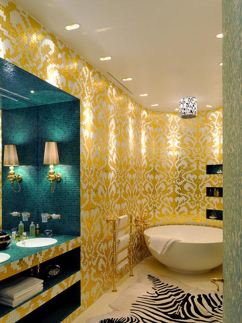 sauvegarderenvoyer christophe perichon appartement prague salle de bains - Salle De Bain Turquoise Et Jaune