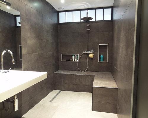 Salle de bain moderne photos et id es d co de salles de bain - Modeles salles de bains modernes ...