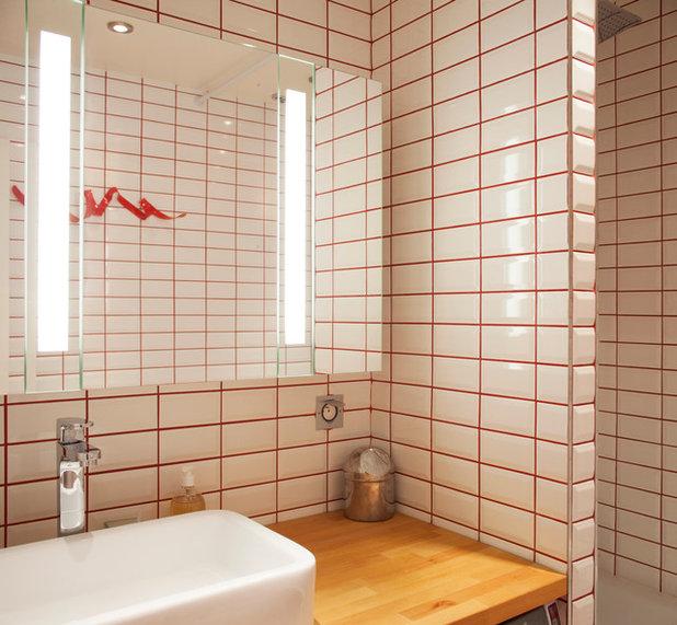 gar nicht kleinkariert w nde m bel und textilien im grid style. Black Bedroom Furniture Sets. Home Design Ideas