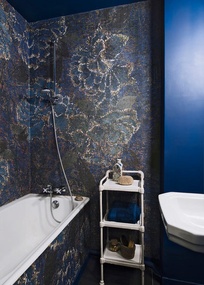 Eclectic Bathroom by Atelier Olivier Bourdon