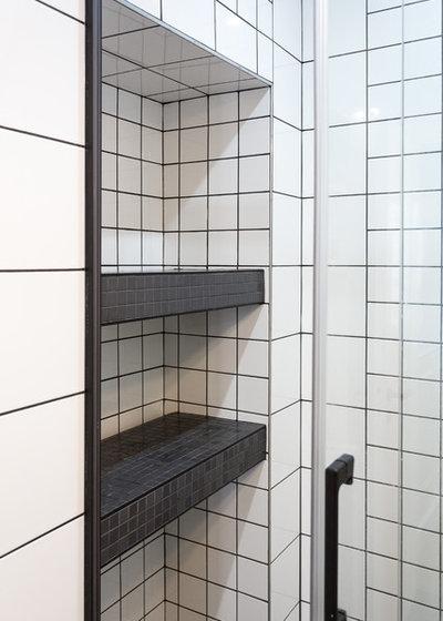 Скандинавский Ванная комната by QUALIRENOVATION