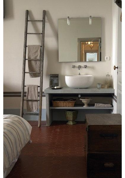 12 id es d co pour une jolie salle de bains campagne. Black Bedroom Furniture Sets. Home Design Ideas