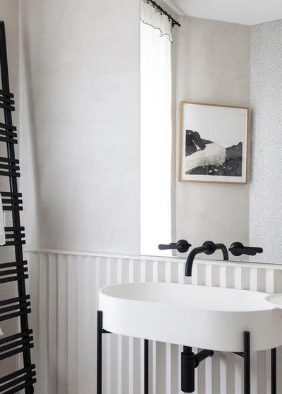 Contemporain Salle de Bain by Bertrand Fompeyrine Photographe