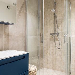 75 Most Por France Bathroom with Travertine Tiles Design Ideas ... Fench Bathroom Showers Design Ideas on